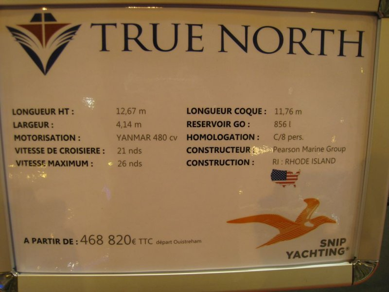 prix salon paris 2010 True North