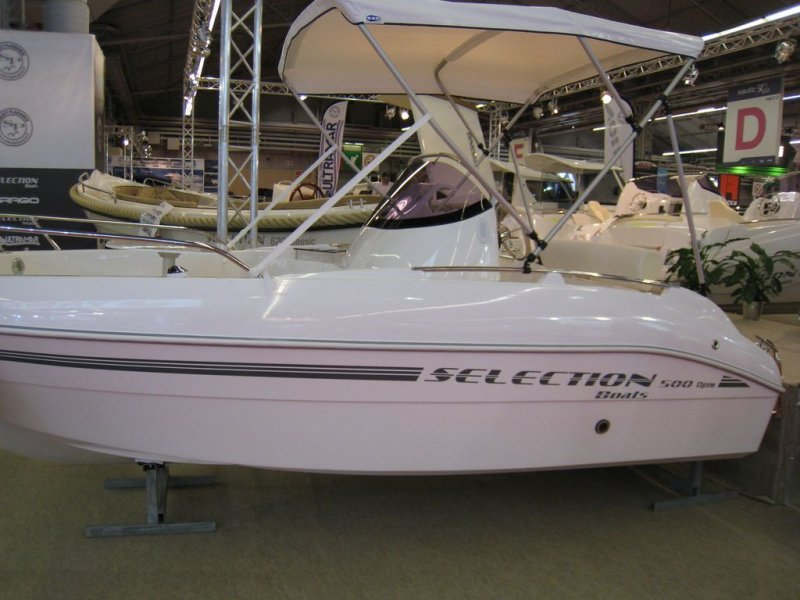selection boats 500 open