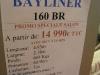 prix salon paris 2010 Bayliner 160 BR