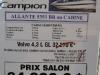 prix salon paris 2010 Campion 535 I BR cabine