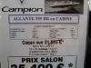 prix salon paris 2010 Campion Allente 595 BR cabine