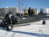 sealegs 7.1m professionnel bateau semi-rigide amphibie