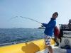 Pêche de gros lieus aux glénans avec Eric Sauvage et ses Lowrance HDS 8
