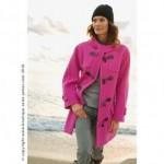 Duffle coat St James femme rose
