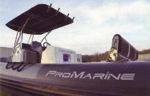 Boudins bateau semi-rigide Pro marine Manta 795