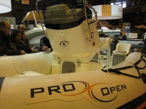 Zodiac Pro Open 550 rangements console hypalon