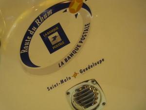Zodiac Pro Open 550 console logo Route du Rhum 2010
