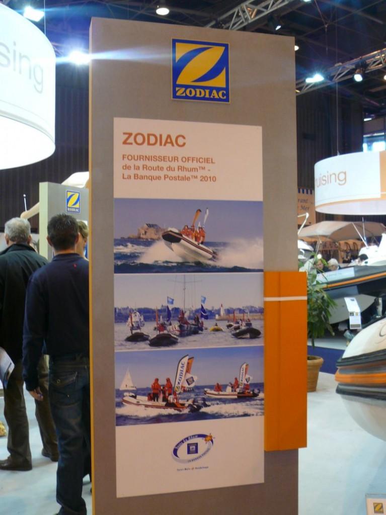 Zodiac Pro Open 550 Route du Rhum 2010 en navigation