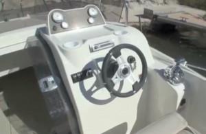 Cockpit Quicksilver Activ 675 open