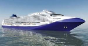 Eco-paquebot du futur: un bateau écologique
