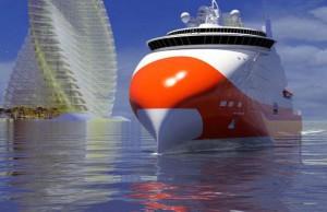 Ferry electrique du futur : un bateau écologique