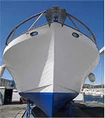 Pose du Seawax sur une coque bateau