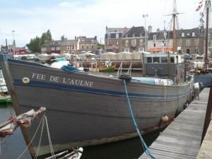 Festival du chant de marins : La fée de l'aulne dans le port de Paimpol