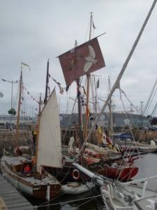 Festival du chant de marins : Les vieux gréements du port de Paimpol