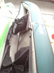 Cabesto - Kayak gonflable vert/gris/noir Sevylor