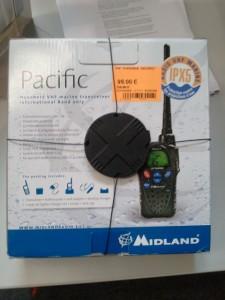 Cabesto - VHF portable Midland IPX5