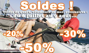 Soldes chez Nautisports - vêtements de mer