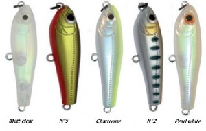 Coloris leurre de surface Elfin Platy - Tackle House
