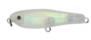 Leurre de surface Elfin Platy de chez Tackle house - Matt clear