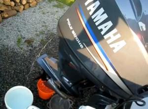 Hivernage hors-bord - Rinçage hors-bord Yamaha 4 temps