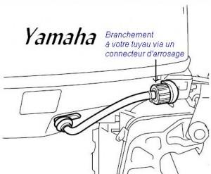 Hivernage hors-bord - Rincage moteur rapide