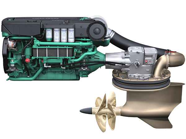 Moteurs Volvo Penta IPS : des moteurs orientables à 360° de nouvelle génération « Le Moteur ...