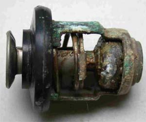 Corrosion calorstat moteur hors-bord