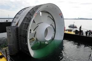 Hydrolienne EDF : Transfert de Brest à Paimpol retardé
