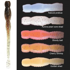 Coloris leurre souple Megabass Fats EBA