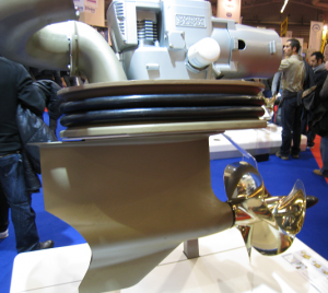 Pod orientable Volvo Penta IPS pour moteur Volvo inboard