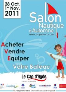 Salon nautique d'automne 2011 au Cap d'Agde