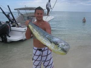 Dorade coryphène - Pêche au gros à l'île Maurice