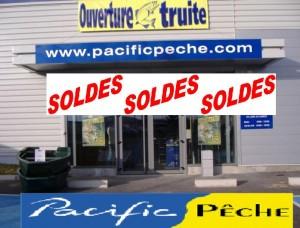 Soldes magasins Pacific Pêche - 18 novremvre 2011 au 30 novembre 2011