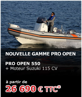 Promotions Zodiac 2011 : Pro Open 550