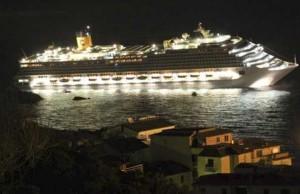 Evacuation passagers échouement Concordia Costa