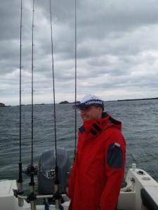 Un ami pêcheur débutant
