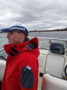 Un pêcheur Horizon Nautique bien équipé