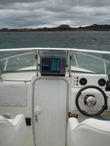 Positionnement du bateau