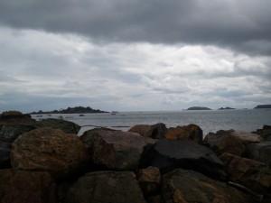 Panorama de la baie