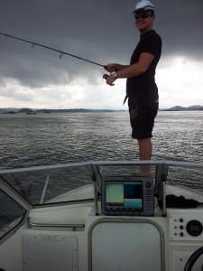Horizon Nautique en action de pêche