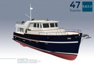 Rhéa Trawler 47 racheté par DLJ