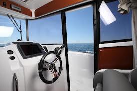 Intérieur du bateau Bénéteau Barracuda 7 : Un fishing nordique à la Française pour 2013