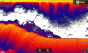 Capture d'écran sondeur HDS-7 GEN3